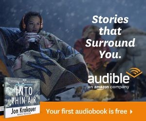 Audible ad - adventure