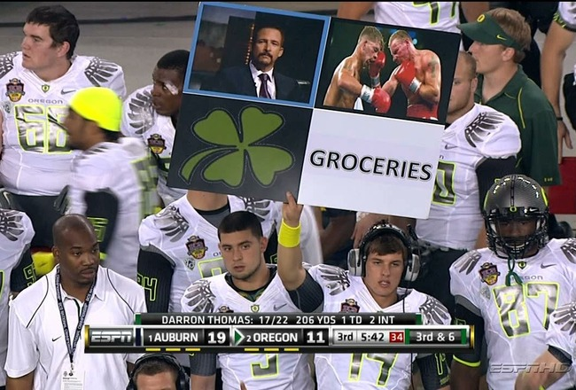 oregon play calling sign