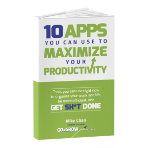 10 Productivity Apps ebook